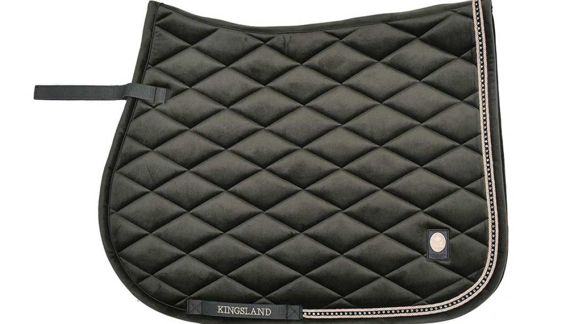 Kingsland Dawn Velvet Saddle Pad